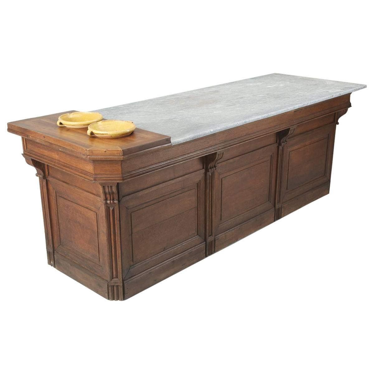 antique french kitchen island desk or work table for sale antique french kitchen island desk or work table for sale at 1stdibs  rh   1stdibs com