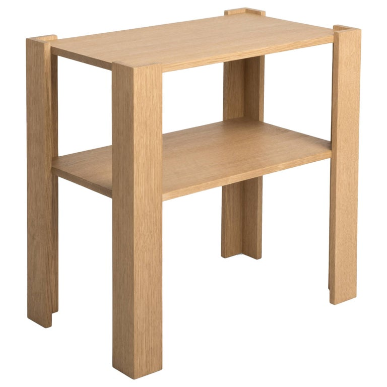 FERRER Corner Bracket Side Table, FERRER