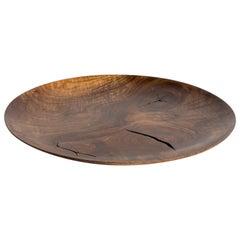Hand-Carved Large French Walnut Tray, ERIK GUSTAFSON