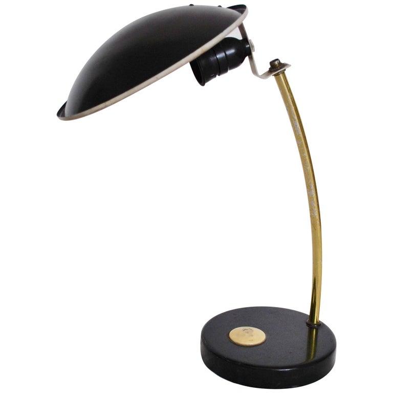 Streamline Moderne East German Desk Lamp From 1930s At 1stdibs