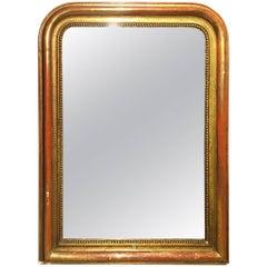 Late 19th Century Gilt Mirror