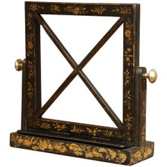 Early 20th Century French Hand-Painted Bookstand with Bass Knobs