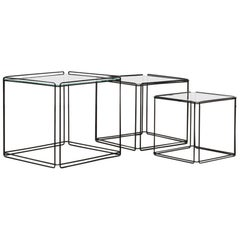 Set of Three Max Sauze Nesting Tables
