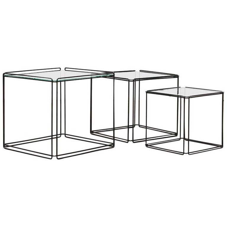 Set of Three Max Sauze Nesting Tables 1
