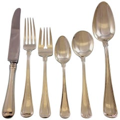 Old French by Gorham Sterling Silver Flatware Set for 12 Service 72 Pieces