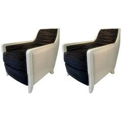 Powell & Bonnell Custom Davenport Lounge Chairs