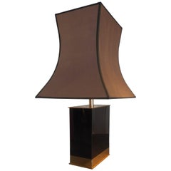 1970s Table Lamp by Decorator Jean-Claude Mahey