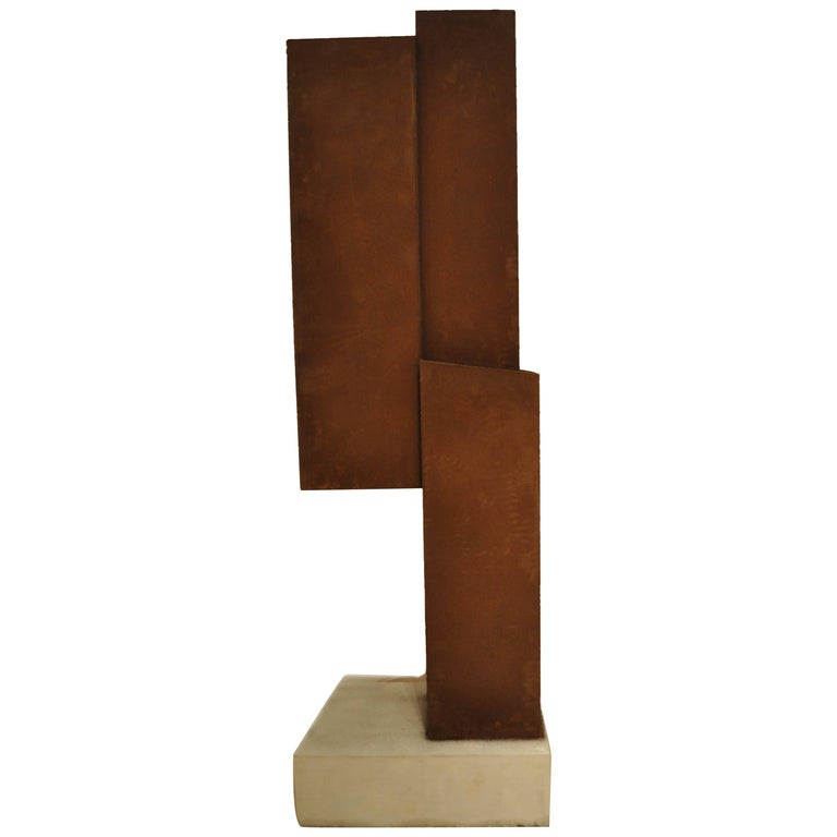 Abstract Steel Sculpture by Artist Scott Donadio 1