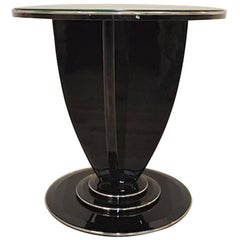 Design Side Table with Art Deco Design
