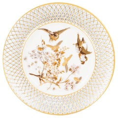 Early 20th Century Pirkenhammer Porcelain Cabinet Plate