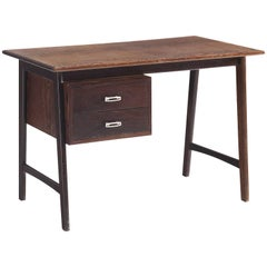 Custom-Made Wenge Writing Desk, 1950s