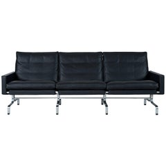 Poul Kjærholm PK31 Three-Seat Sofa by Fritz Hansen