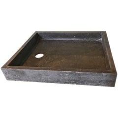 Antique Bluestone Sink, circa 1850