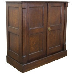 Small Antique English Cupboard