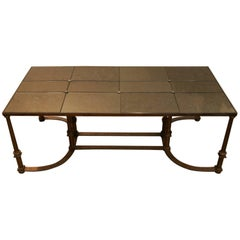 Neoclassical Large Coffee Table, 1970