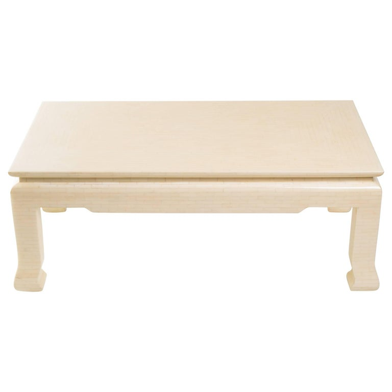 1970s Bone Coffee Table From Columbia At 1stdibs