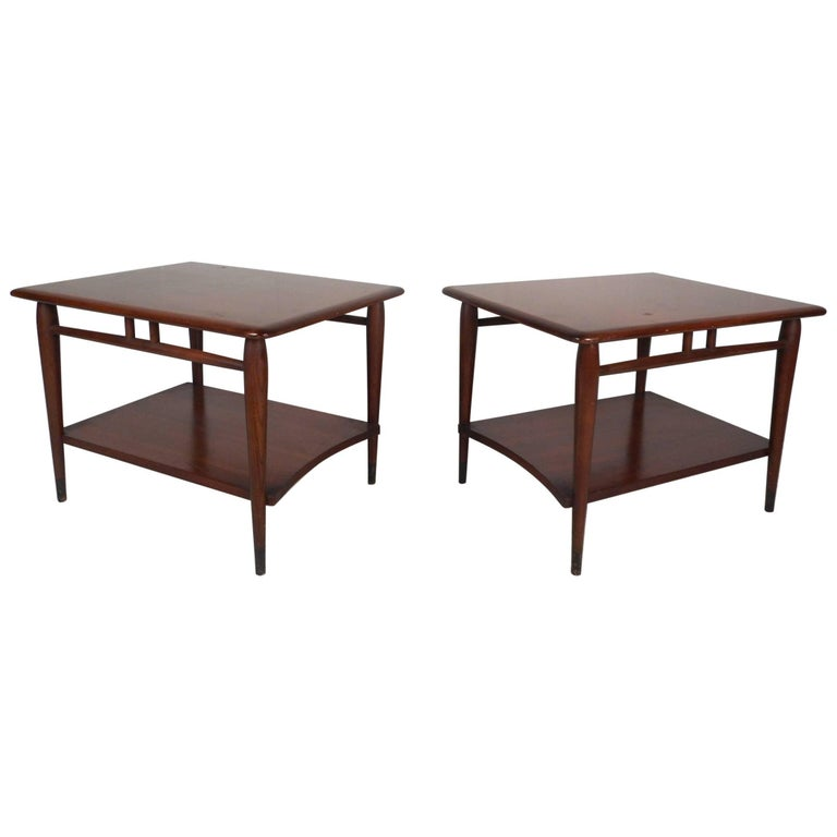 Mid-Century Modern End Tables by Lane Furniture