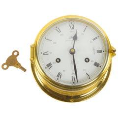 Schatz Royal Mariner Ships Brass Bell Clock