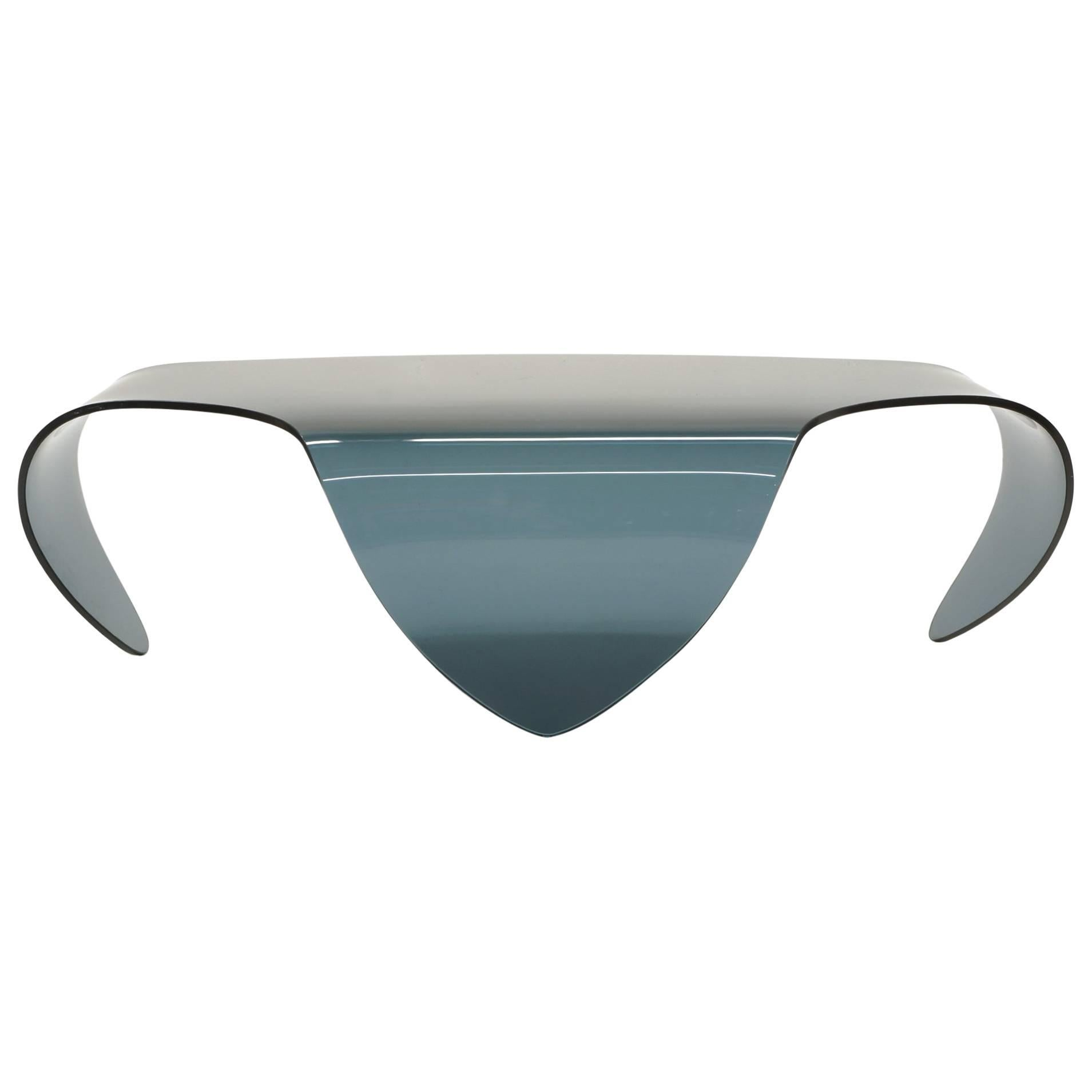 Glass form furniture Sets All Glass Coffee Table Biomorphic Sculptural Bluegray Glass Form For Sale Pepperfry All Glass Coffee Table Biomorphic Sculptural Bluegray Glass Form