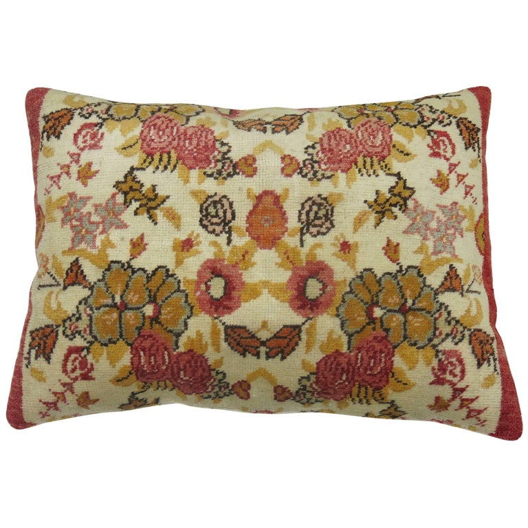 Vintage Floor Pillows : Vintage Turkish Floor Pillow For Sale at 1stdibs