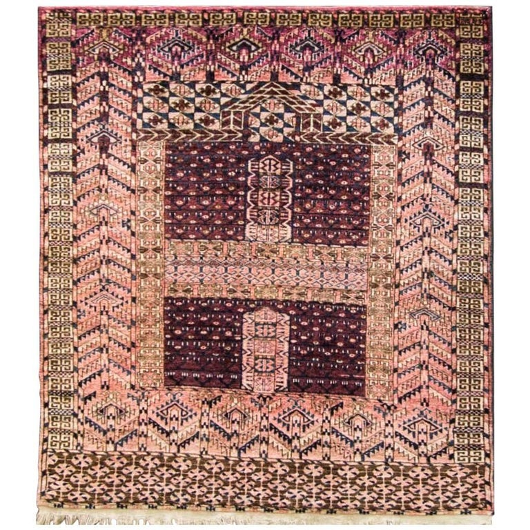 Antique Turkoman Ersari Carpet At 1stdibs
