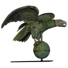 Molded Copper and Cast Zinc Eagle Weathervane