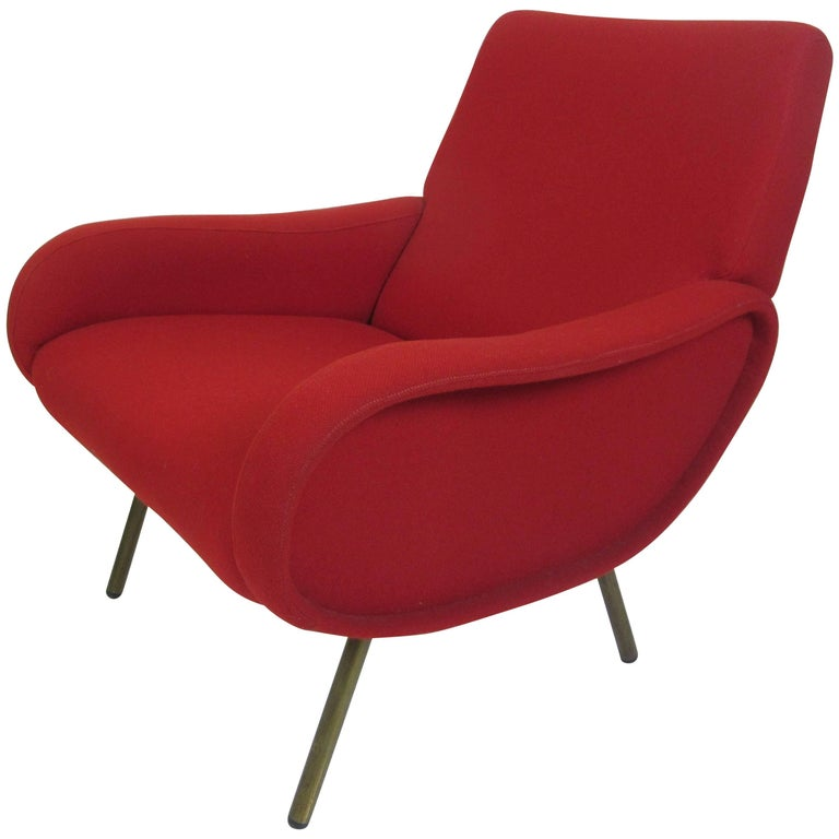 Marco Zanuso for Arflex Petit Lady Chair For Sale