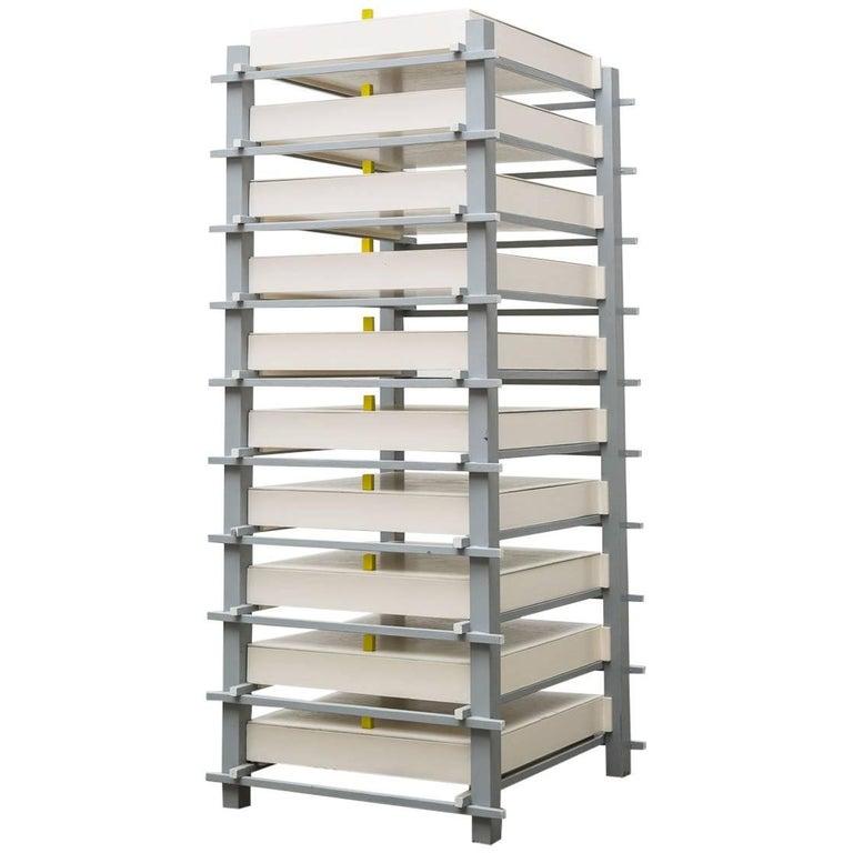 Gerrit Rietveld Designed Filing Cabinet for Dr. Hartog For Sale