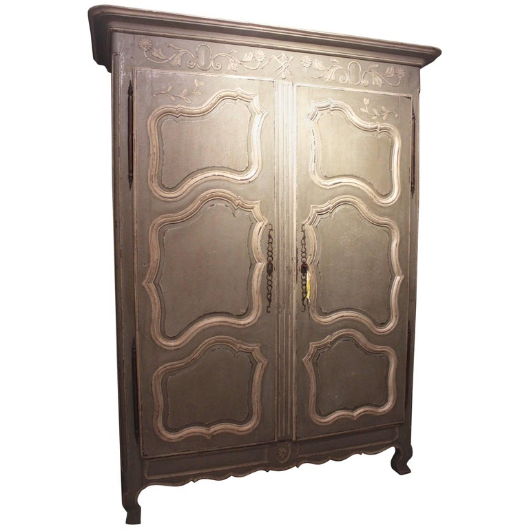 Antique French Louis XV Style Armoire