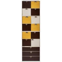 Set of Four Ristomatti Ratia Palaset Modular Storage Boxes
