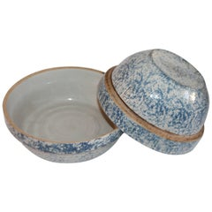 Pair of Sponge Ware Mixing Bowls