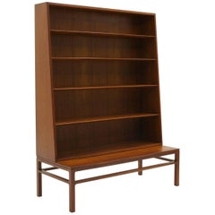 Hans Olsen Two-Piece Rosewood Bookcase