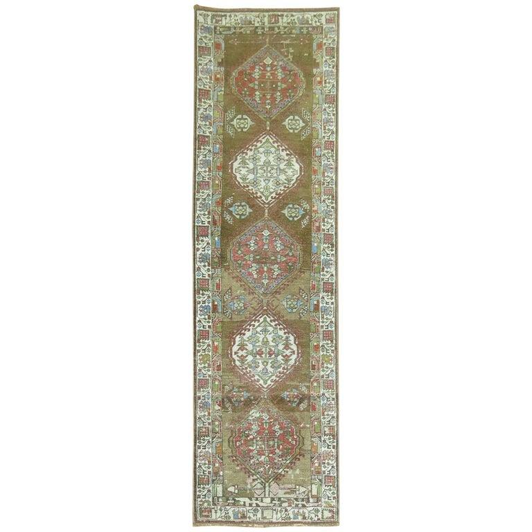 Persian Serab Runner For Sale