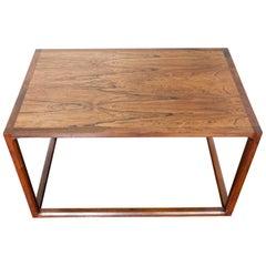 1960s Midcentury Modern Aksel Kjersgaard Large Danish Rosewood Coffee Table