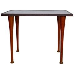 Scandinavian Oak Table by Inge Cock Clausen, 1960s, Denmark