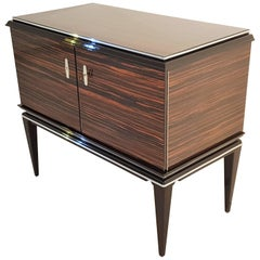 Art Deco Macassar Commode