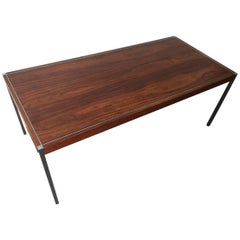 Rare Rosewood Dining Table or Desk by Richard Schultz for Knoll