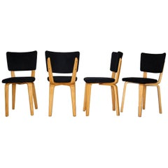 Cor Alons for Gouda Den Boer Dining Chairs, Netherlands, 1960s