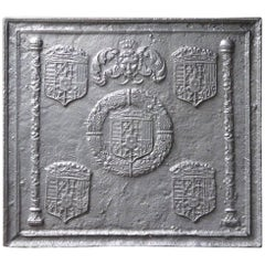 16th-17th Century 'Arms of Lorraine' Fireback