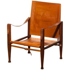 1930s, a Kaare Klint Safari Chair for Rud. Rasmussen