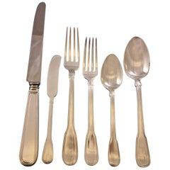 Hamilton by Tiffany & Co. Sterling Silver Flatware Set 12 Service 72 Pcs Dinner