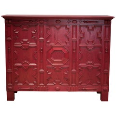 Axel Einar Hjorth, Red Stained Oak Commode