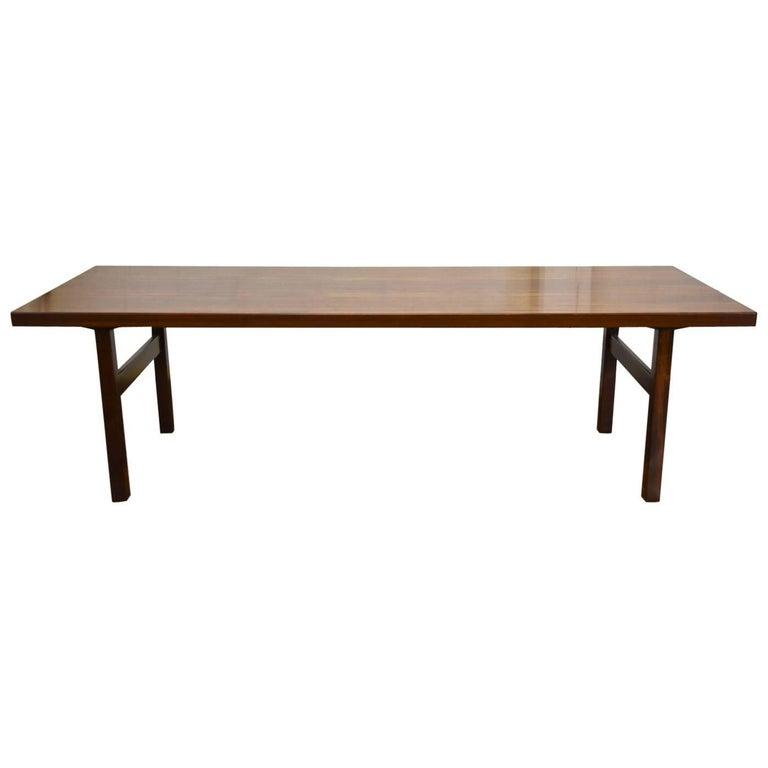 Danish Mid-Century Rosewood Coffee Table