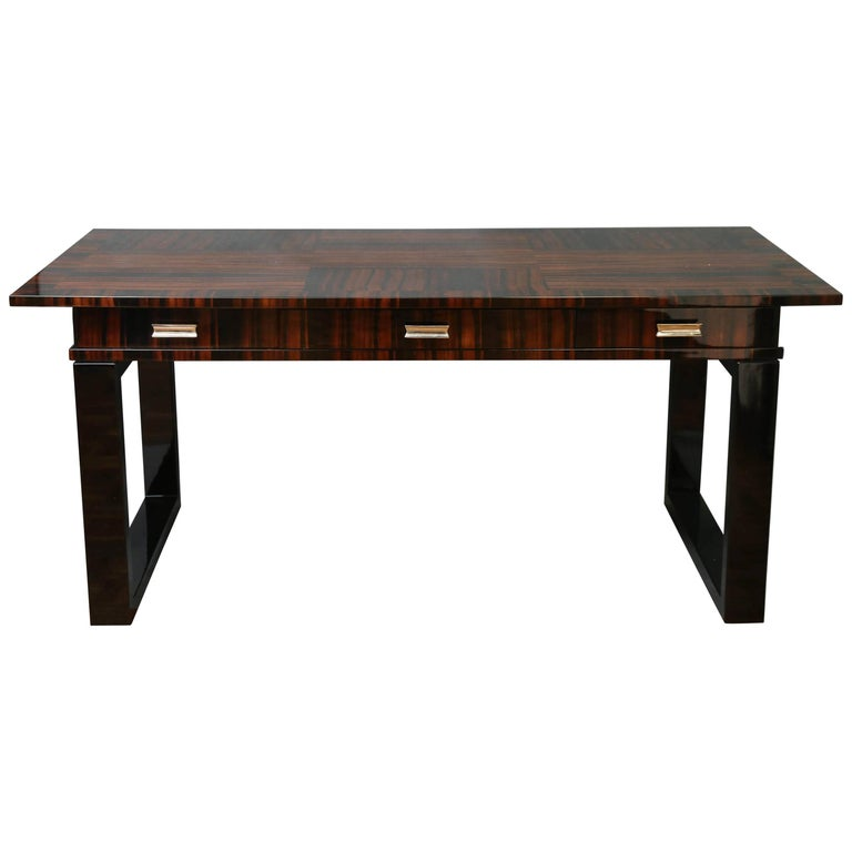 Art Deco Hungarian Office Desk or Table