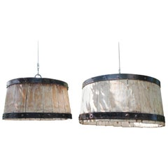 Vintage Wine Barrel Fixtures