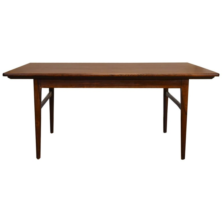 Danish Mid Century Rosewood Extending Coffee Table For Sale At 1stdibs