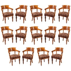 Set of 14 Dining Chairs