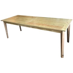 Fabulous French Farm Table Custom Handmade Interior or Exterior
