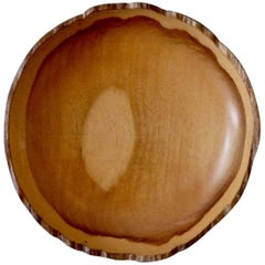 Bob Stocksdale Free Edge Turned Wood Bowl