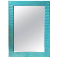 ON SALE NOW! Beach Blues Hand Painted Modern Mirror